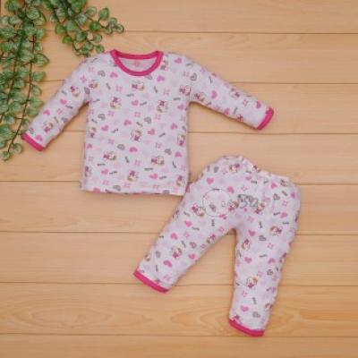 Quần áo thu đông cho bé gái hình mèo xinh (9 tháng - 7 tuổi)