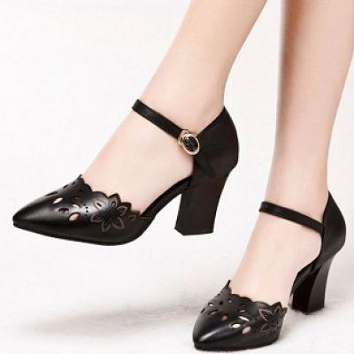 Giày cao gót laze