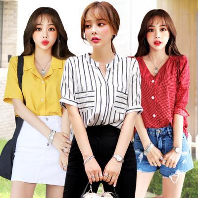 Bộ sưu tập áo nữ Hàn Quốc thời trang Deepny