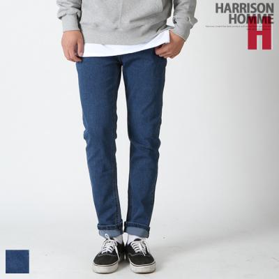 Quần jean nam dài lưng thun dây rút BN1034 Harrison Homme